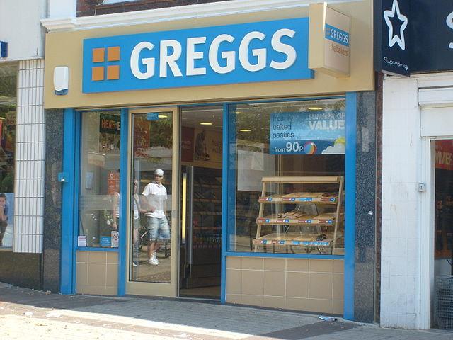 Gregg's shop storefront